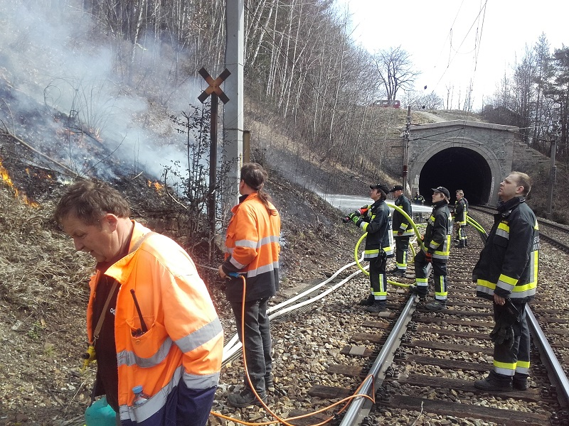 You are browsing images from the article: Brandstreifenheizen entlang der Südbahn