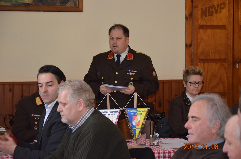 You are browsing images from the article: 143. Mitgliederversammlung der FF Payerbach