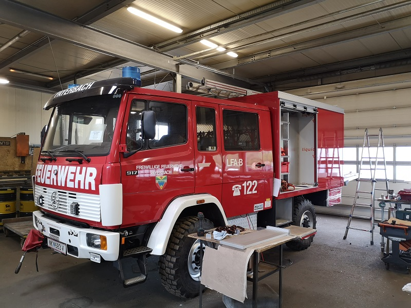 You are browsing images from the article: Umbau LFA-B, 16.02.2019 - 27.06.2019