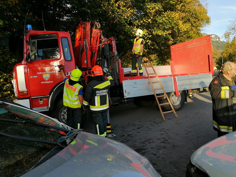 You are browsing images from the article: Schwerer Verkehrsunfall in Reichenau