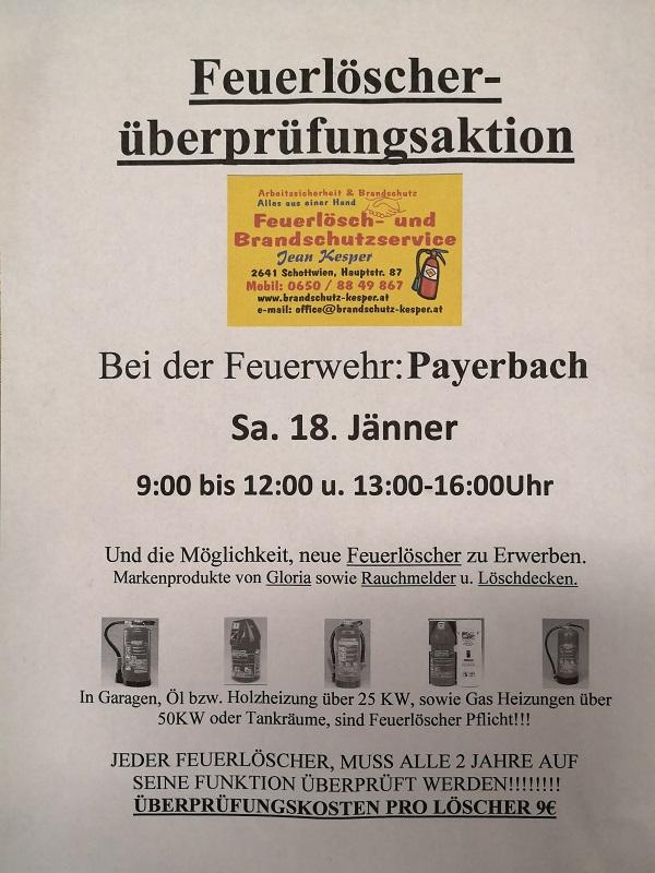You are browsing images from the article: Vorankündigung, Feuerlöscherüberprüfung 18.01.2020